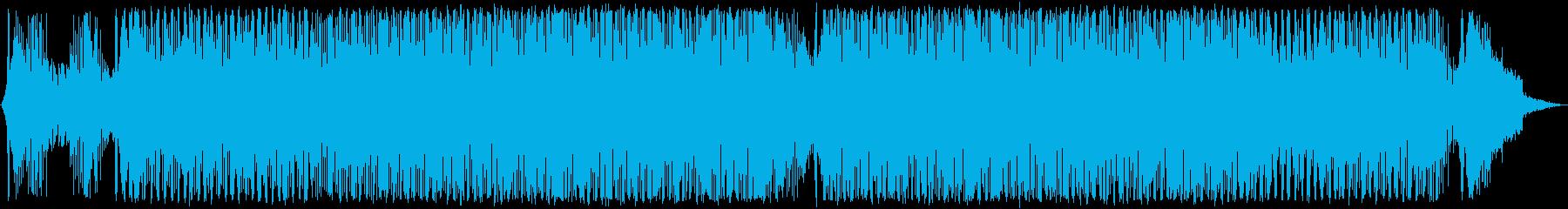 エレクトロニック アクション ハイ...の再生済みの波形