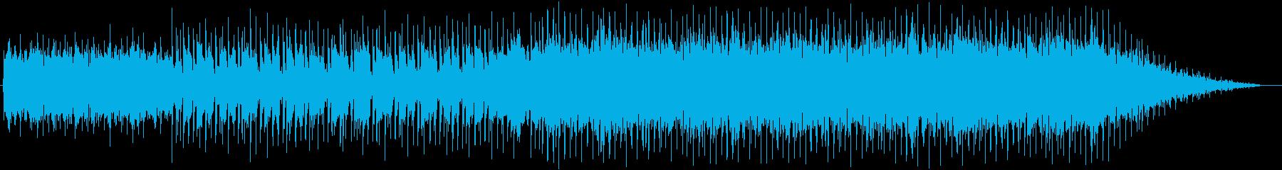 エンディング向きの爽やかなポップ・伴奏版の再生済みの波形