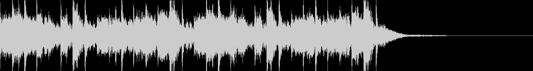 場面転換に使えるオシャレなジングルの未再生の波形