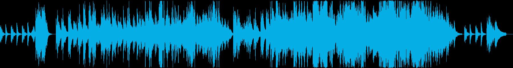 泣きたい時に聴くピアノバラードの再生済みの波形