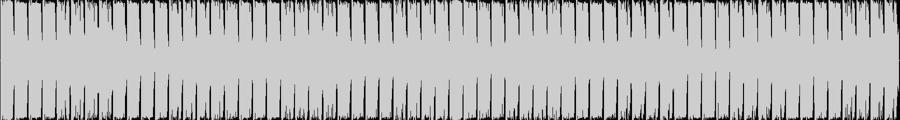 ループ可能/どっしりした応援系四つ打ちの未再生の波形