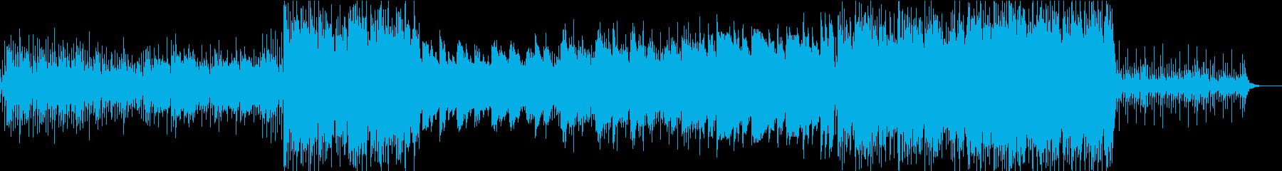 【和風HipHop】神秘的な深い夜の森の再生済みの波形