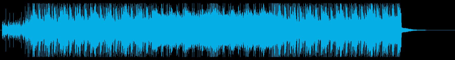 インダストリアルロック・衝撃・バトルの再生済みの波形
