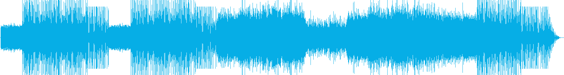 不調和でミステリアスな旋律の再生済みの波形