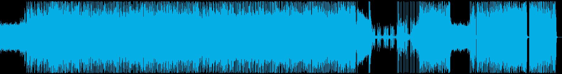 生演奏ギター冴えるヘビネス 【音質違い】の再生済みの波形