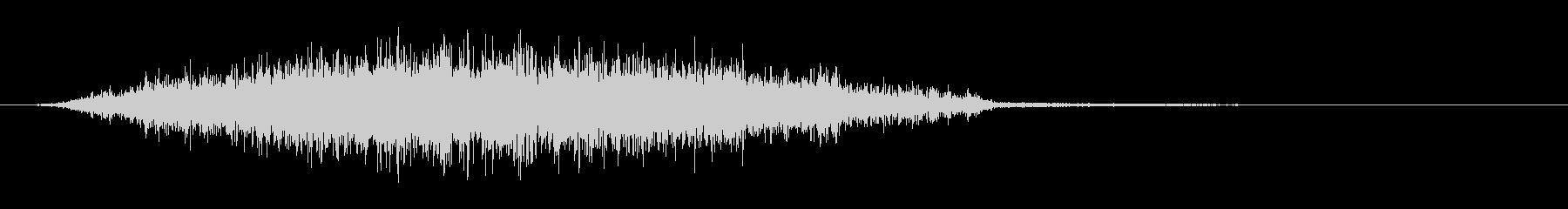 シャープピアスフーシュ5の未再生の波形