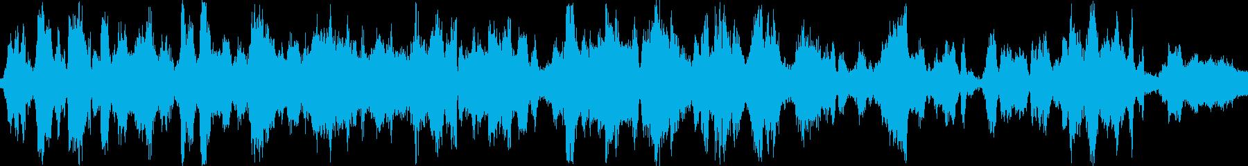 コンプレッサーの動きの再生済みの波形