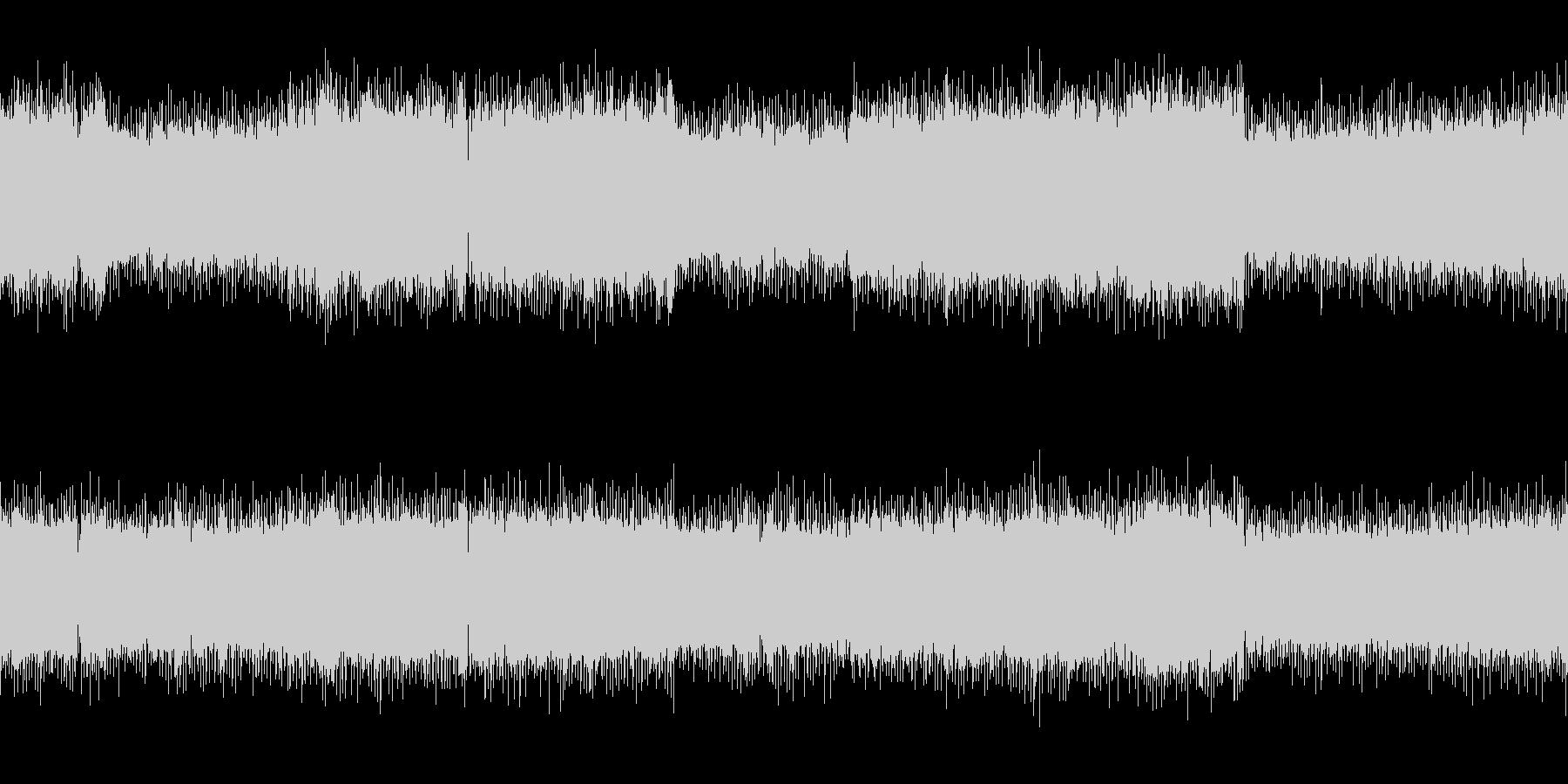 ループ オーケストラとロックのバトルの未再生の波形