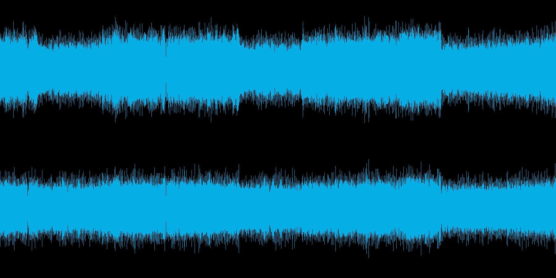 ループ オーケストラとロックのバトルの再生済みの波形