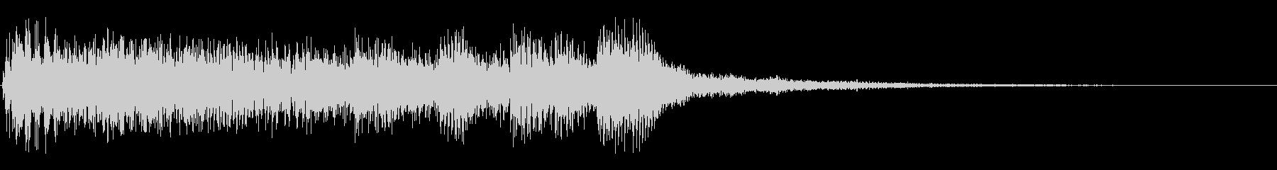 オーケストラダークサスペンスアクセントの未再生の波形