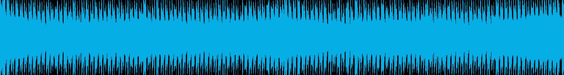 【EDMループ素材】企業・映像制作向きHの再生済みの波形
