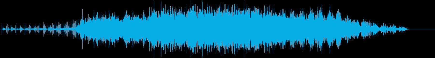 上昇感、ふわふわしたエレクトロニカの再生済みの波形