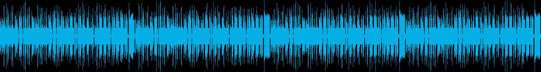 洞窟・草原RPG用チップチューンループの再生済みの波形