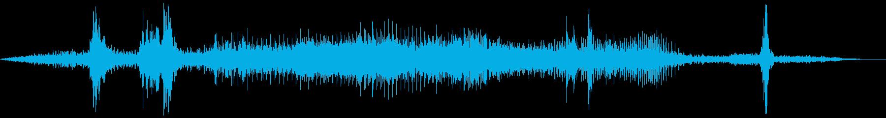 PROPANE:EXT:アプローチ...の再生済みの波形