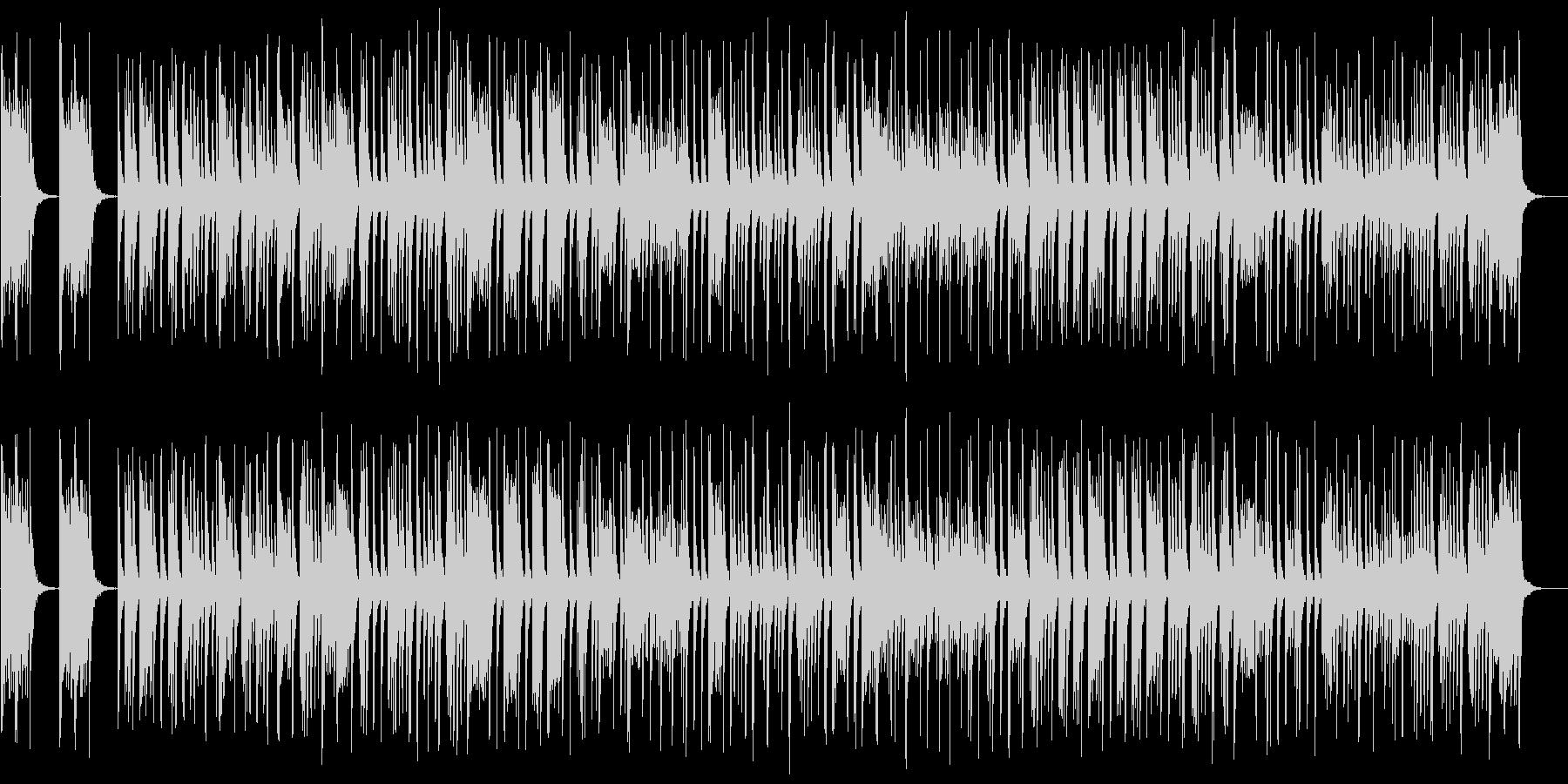 シンプルなマーチングスネアドラムの未再生の波形