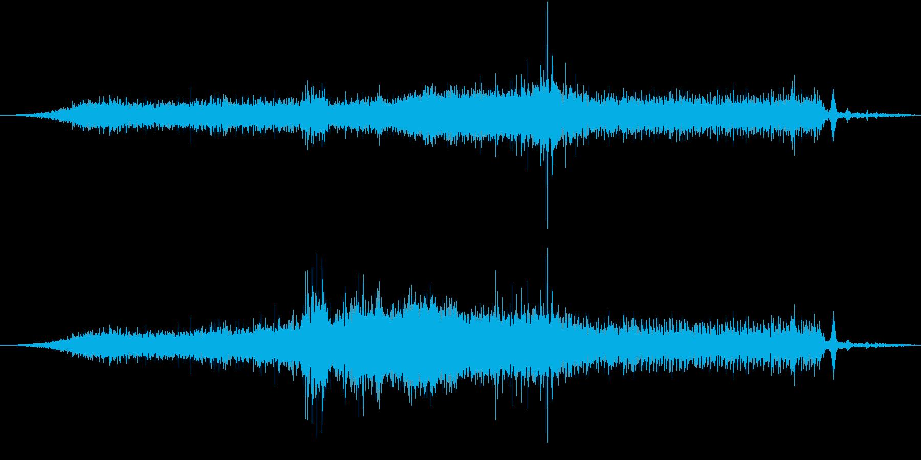 ハマーH2 Suv:内線:アプロー...の再生済みの波形