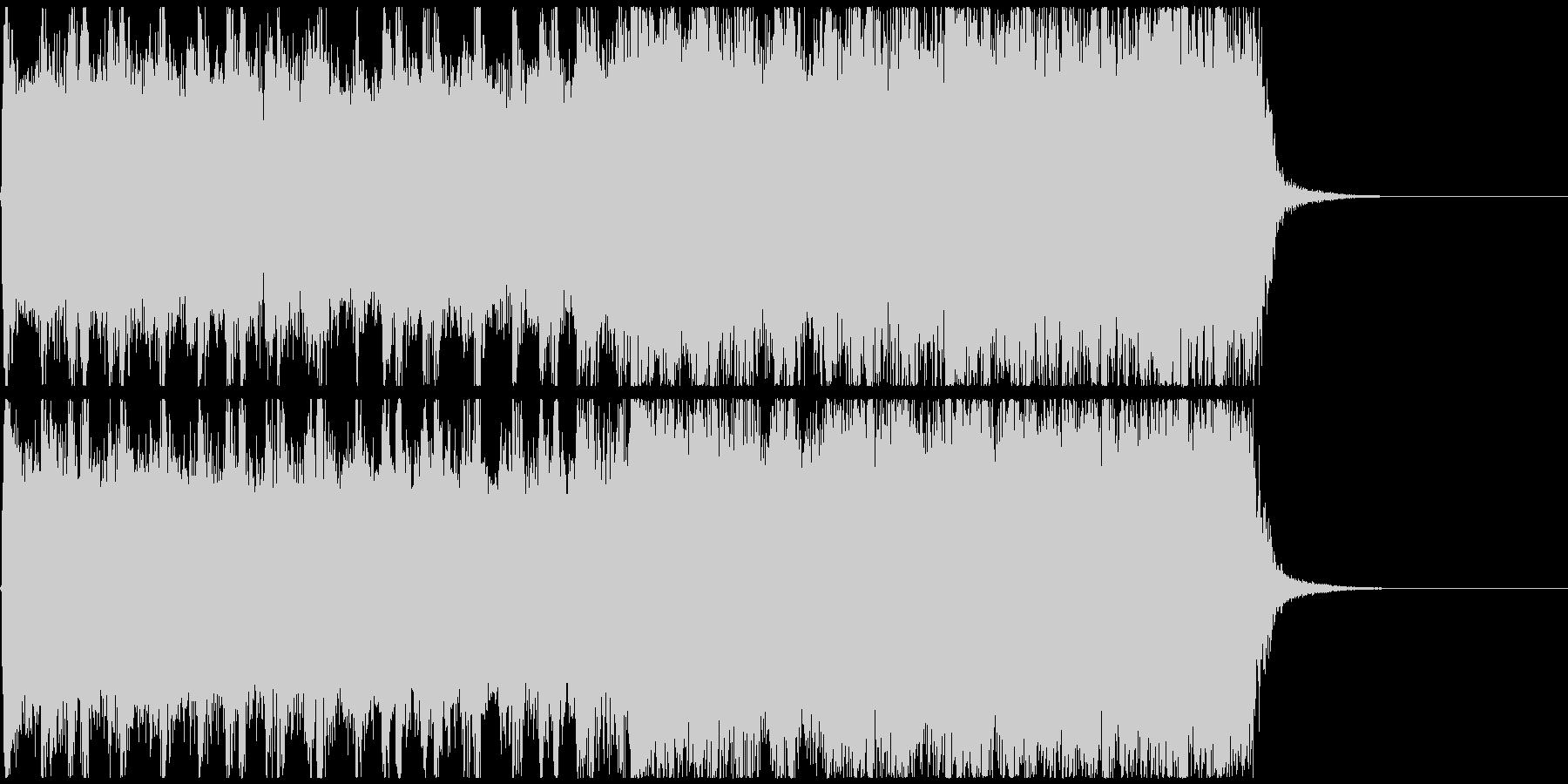 15秒CM_BGM-Aの未再生の波形