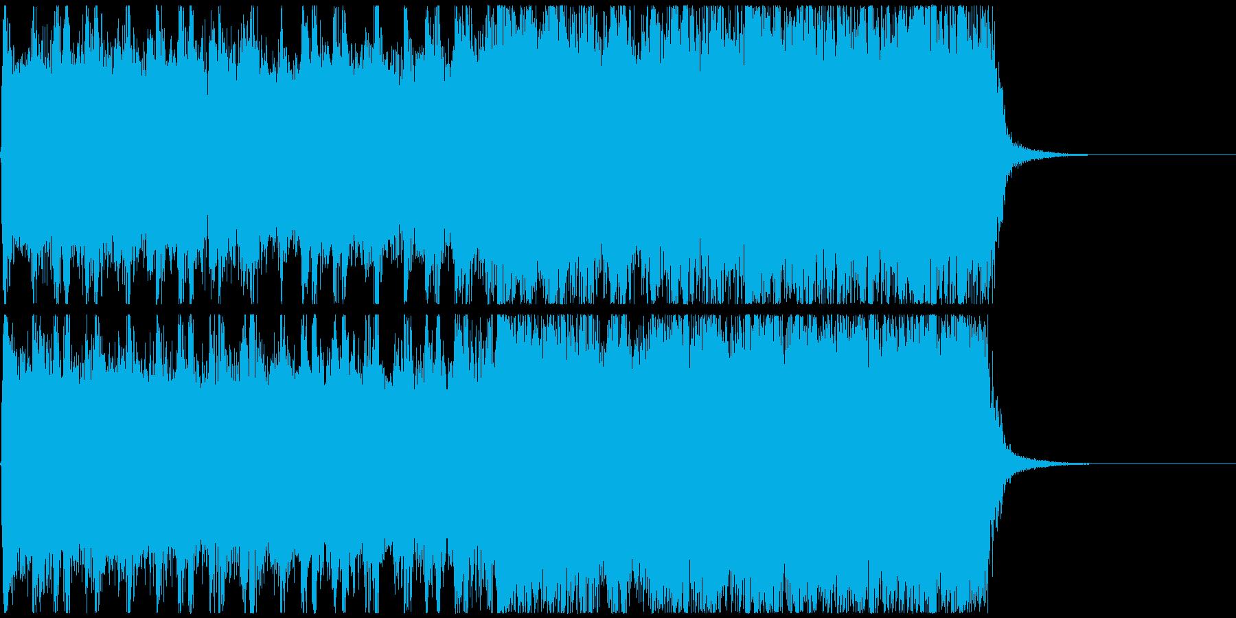 15秒CM_BGM-Aの再生済みの波形