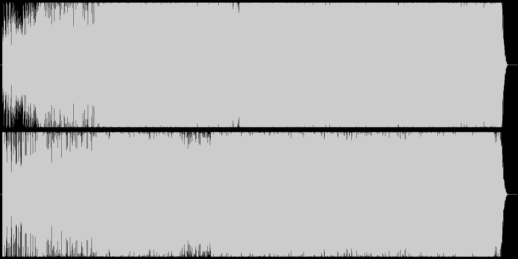 超爽やかEDMの未再生の波形