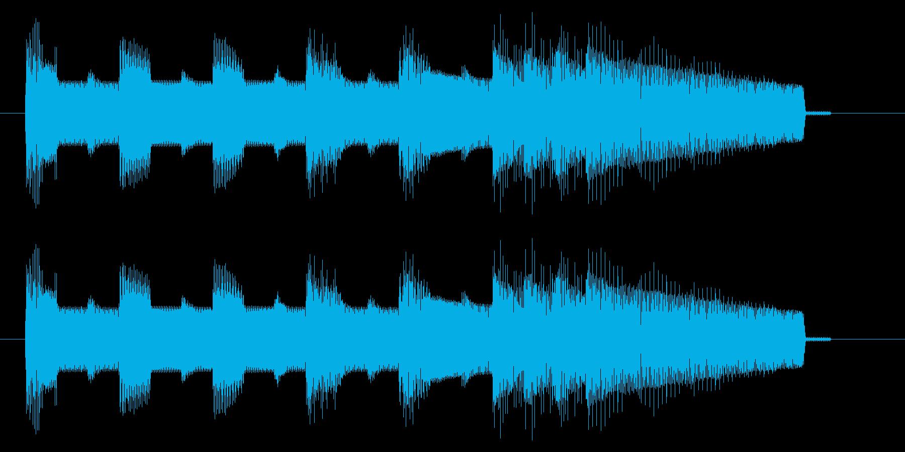 NES アクションD09-3(ゲームオーの再生済みの波形