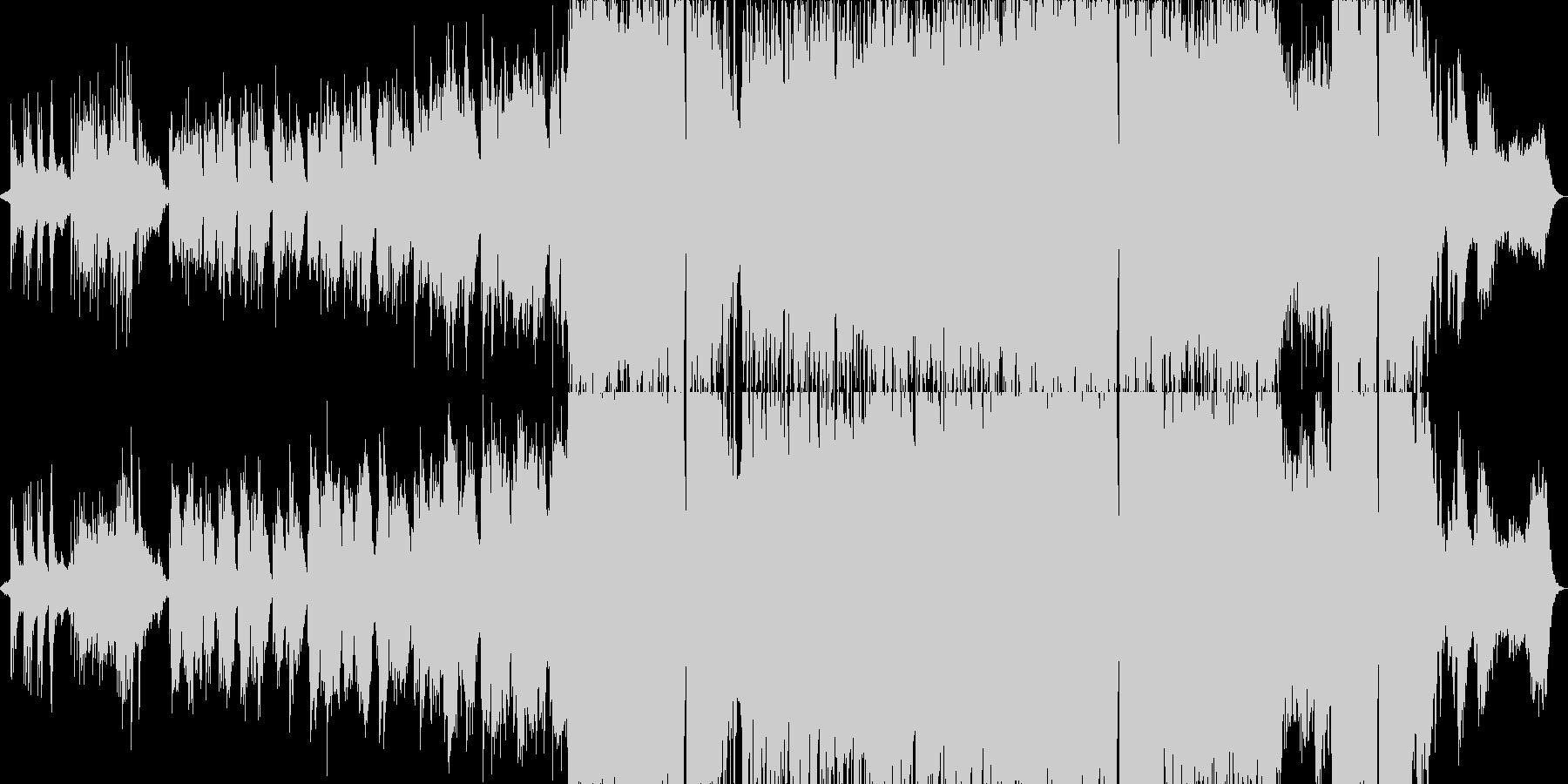 物悲しい雰囲気のバラード3の未再生の波形