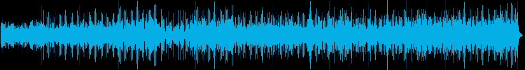 マンドリン、ピアノ、アコースティッ...の再生済みの波形