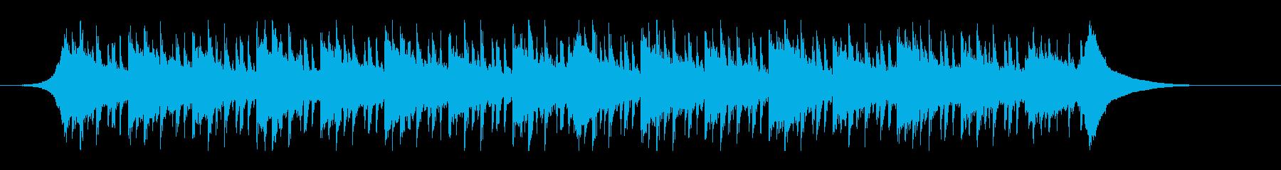 健康管理(45秒)の再生済みの波形