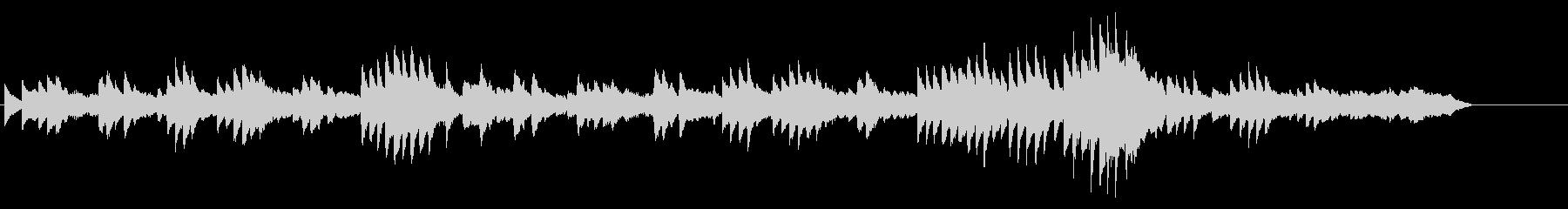 別れの曲ショパンピアノの未再生の波形
