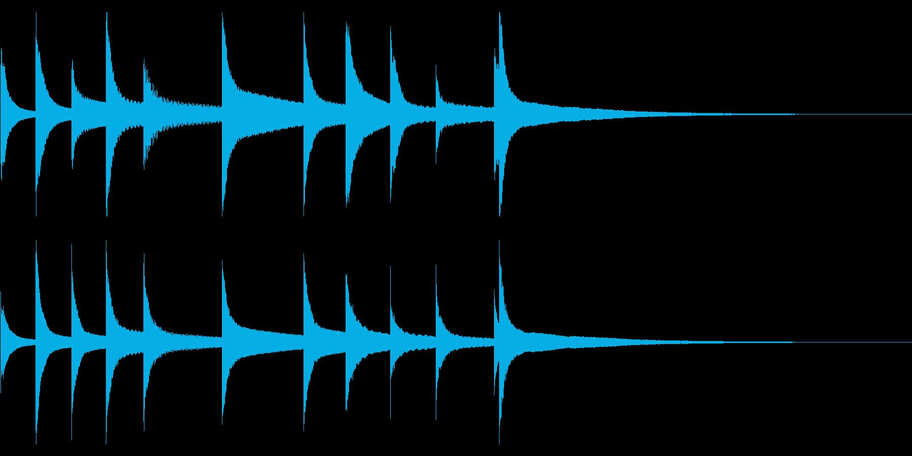 オーケストラベル:ミュージカルアク...の再生済みの波形
