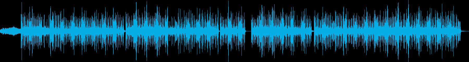 複雑な感触のヒップホップ。サスペン...の再生済みの波形