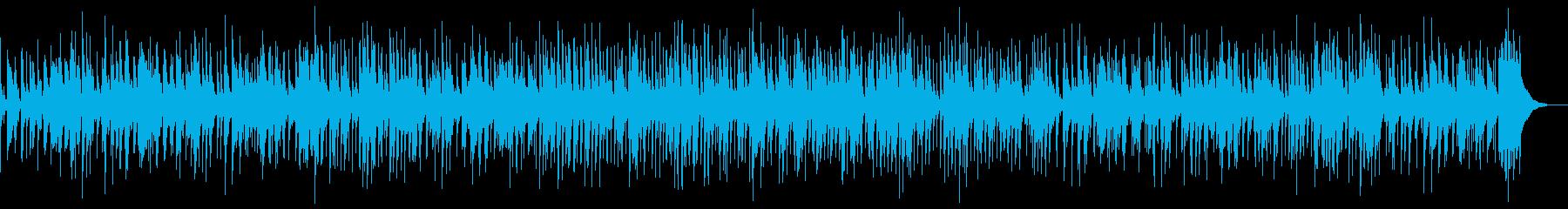 落ち着いたバーのBGMにの再生済みの波形
