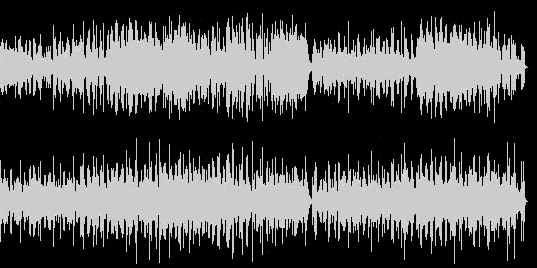 ミステリアスなピアノインストルメントの未再生の波形