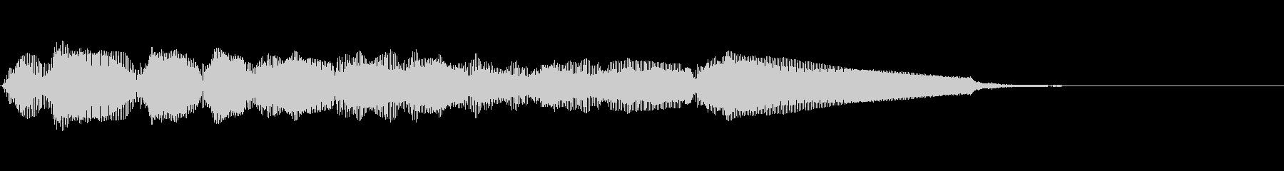 エレキギター6弦チューニング1リバーブの未再生の波形
