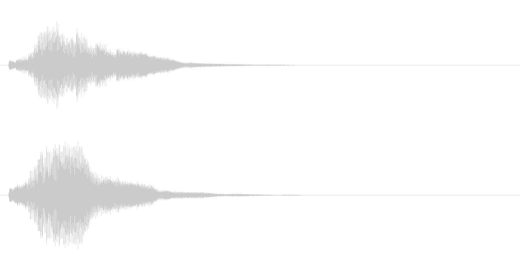 ハープ・上昇_6-2の未再生の波形