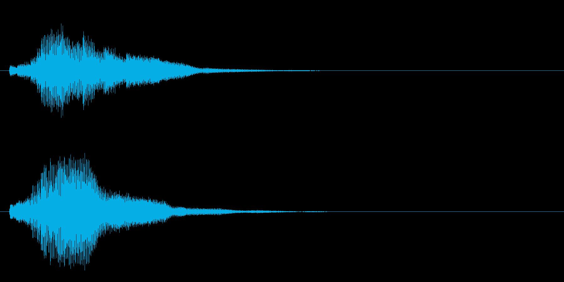 ハープ・上昇_6-2の再生済みの波形
