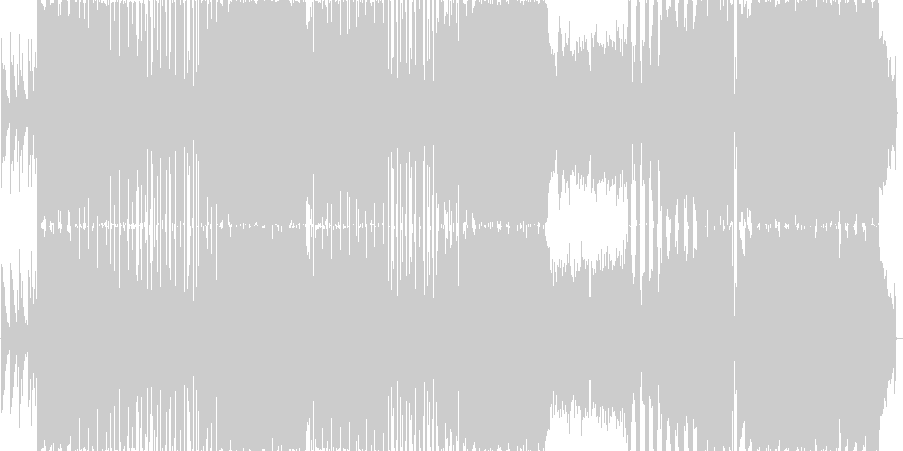 疾走感のあるオープニング向きギターロックの未再生の波形