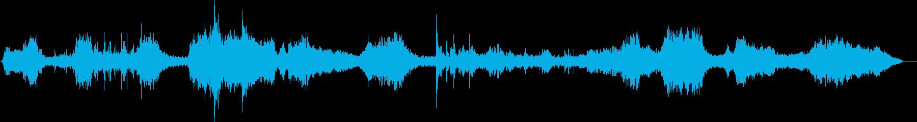 ブルドーザー、ローディンググレーベ...の再生済みの波形