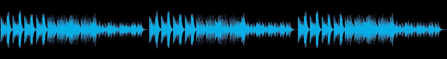 オリエンタルで琴のようなストリングスの再生済みの波形