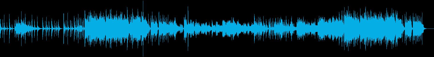 おしゃれの紹介ビデオ用の再生済みの波形