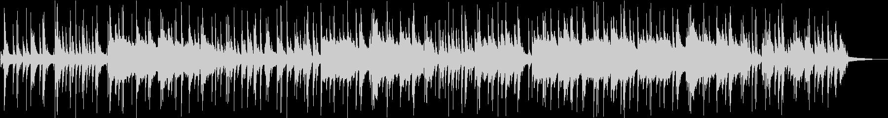 ピアノとサックスな静かなバラードの未再生の波形