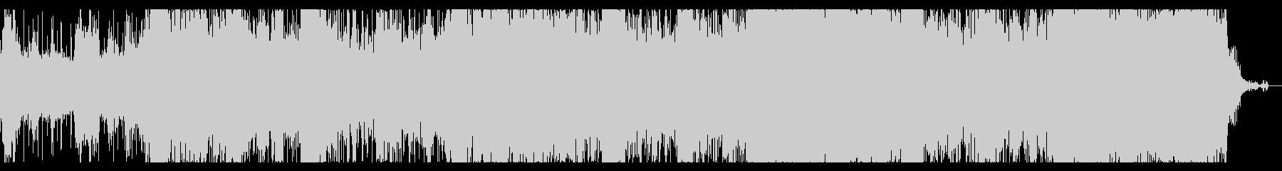鳥鳴き声のダークテクスチャの未再生の波形