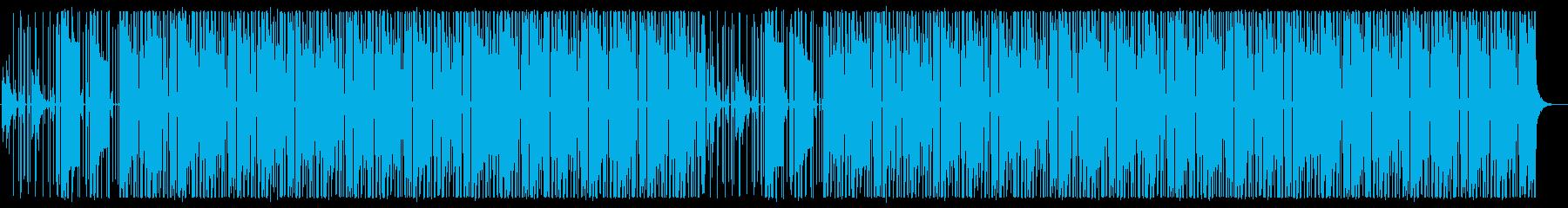 RnB,Pop,Hip Hopの再生済みの波形