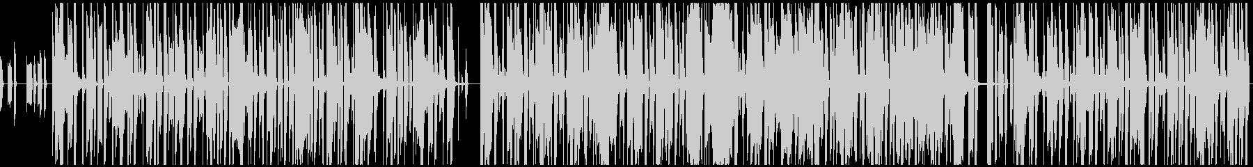アナログシンセのファンキーなグルーブの未再生の波形