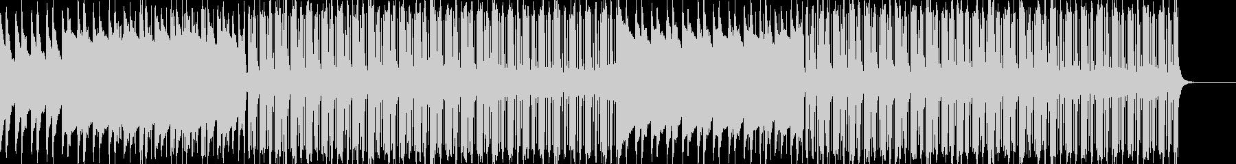 レトロポップの未再生の波形