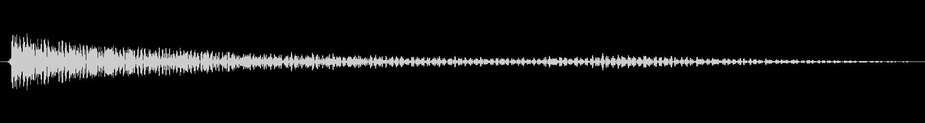 シートメタルヒット07-LCRの未再生の波形