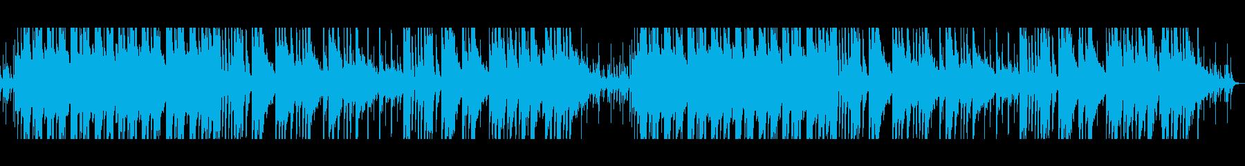しっとりと甘いムード/ピアノ・ベルの再生済みの波形