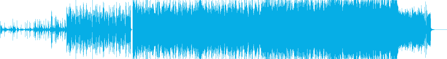 An instrumental feel with a distinctive feel of a drum's reproduced waveform