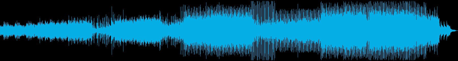 感動的で壮大!アコギ・ピアノ・バイオリンの再生済みの波形