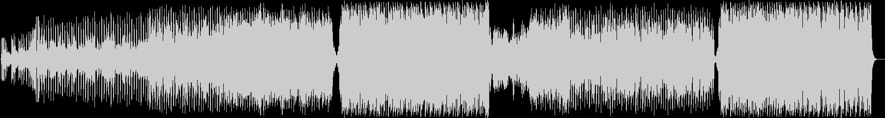 C-POPで暖かい曲の未再生の波形