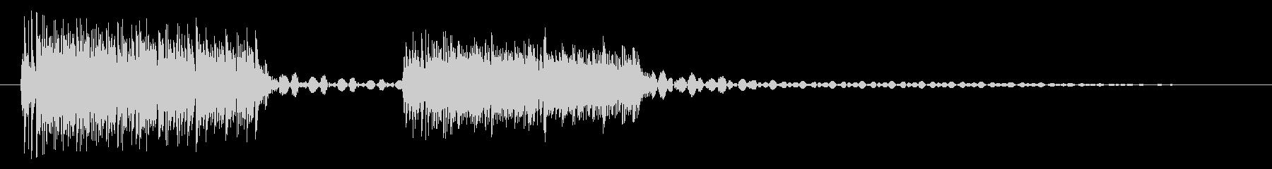 ブブッ/間違い/クイズの未再生の波形